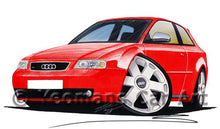 Load image into Gallery viewer, Audi S3 (Mk1) - Caricature Car Art Coffee Mug