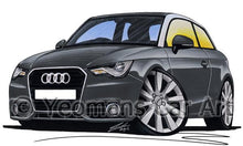 Load image into Gallery viewer, Audi A1 - Caricature Car Art Coffee Mug