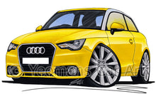 Load image into Gallery viewer, Audi A1 - Caricature Car Art Print