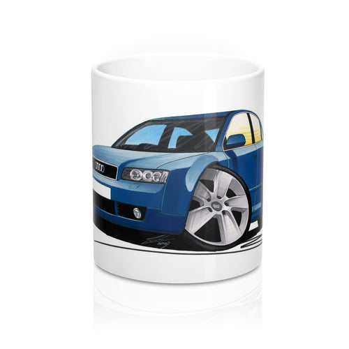 Audi A4 (B6) - Caricature Car Art Coffee Mug