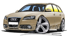 Load image into Gallery viewer, Audi A4 (B8) Avant - Caricature Car Art Print