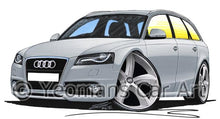 Load image into Gallery viewer, Audi A4 (B8) Avant - Caricature Car Art Coffee Mug