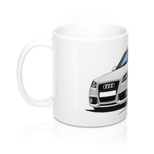 Audi A4 (B8) Avant - Caricature Car Art Coffee Mug