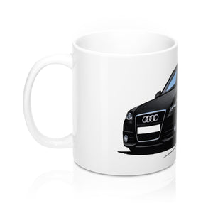 Audi A4 (B8) - Caricature Car Art Coffee Mug