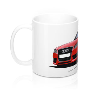 Audi A5 - Caricature Car Art Coffee Mug