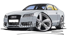 Load image into Gallery viewer, Audi A5 - Caricature Car Art Coffee Mug