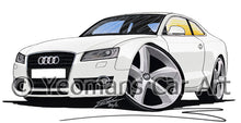 Load image into Gallery viewer, Audi A5 - Caricature Car Art Print