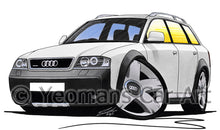 Load image into Gallery viewer, Audi A6 Allroad - Caricature Car Art Print