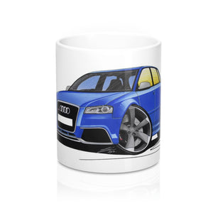 Audi RS3 - Caricature Car Art Coffee Mug