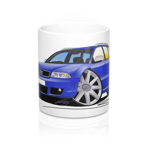 Audi RS4 (B5) Avant - Caricature Car Art Coffee Mug