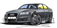 Load image into Gallery viewer, Audi RS6 (C6) - Caricature Car Art Coffee Mug