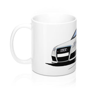 Audi RS6 (C6) - Caricature Car Art Coffee Mug