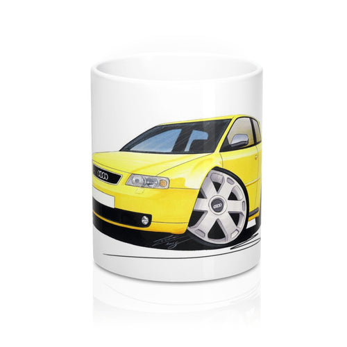 Audi S3 (Mk1) - Caricature Car Art Coffee Mug