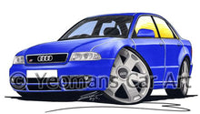 Load image into Gallery viewer, Audi S4 (B5) - Caricature Car Art Coffee Mug