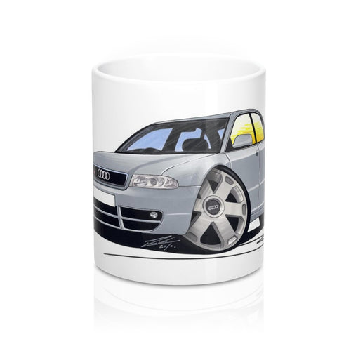 Audi S4 (B5) - Caricature Car Art Coffee Mug