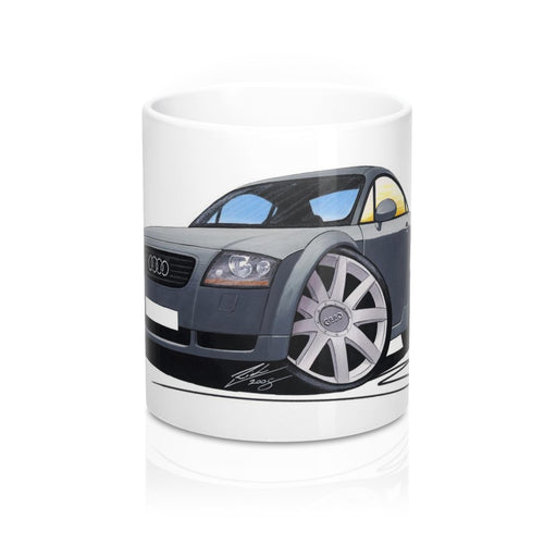 Audi TT (Mk1) - Caricature Car Art Coffee Mug