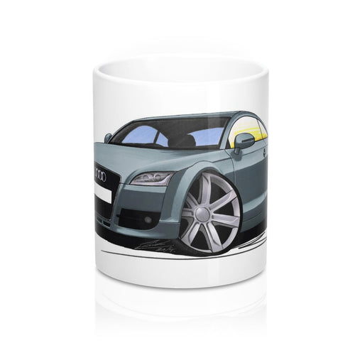 Audi TT (Mk2) - Caricature Car Art Coffee Mug