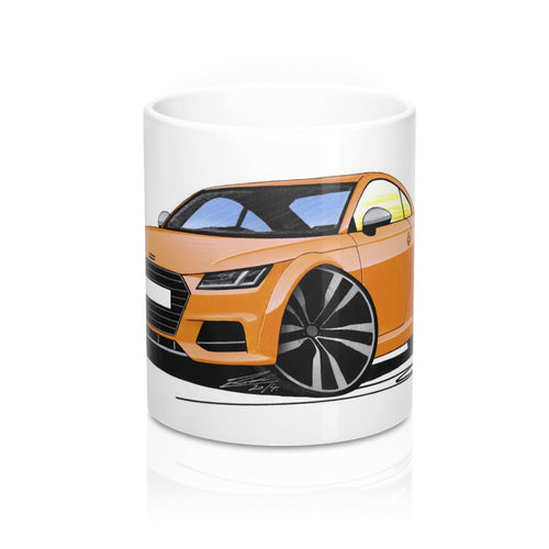Audi TT (Mk3) S - Caricature Car Art Coffee Mug