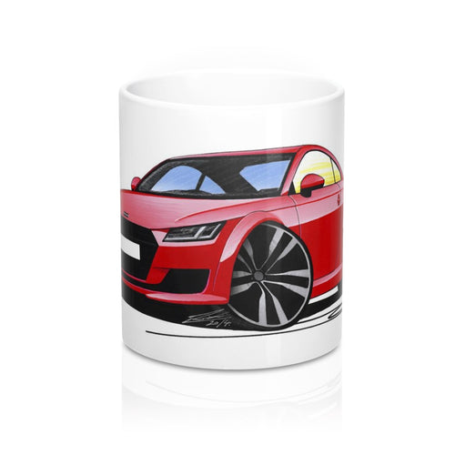 Audi TT (Mk3) - Caricature Car Art Coffee Mug