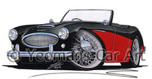 Load image into Gallery viewer, Austin-Healey 3000 - Caricature Car Art Coffee Mug