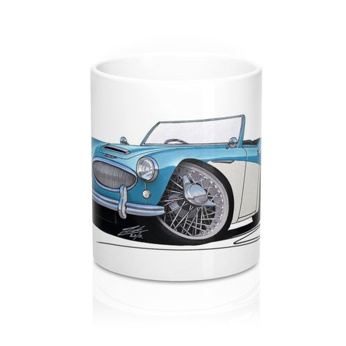 Austin-Healey 3000 - Caricature Car Art Coffee Mug