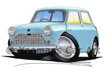 Load image into Gallery viewer, Austin Mini (Mk1) / Seven - Caricature Car Art Coffee Mug