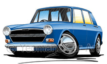 Load image into Gallery viewer, Austin 1300 - Caricature Car Art Print