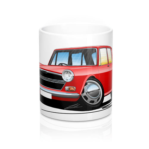 Austin 1300 - Caricature Car Art Coffee Mug