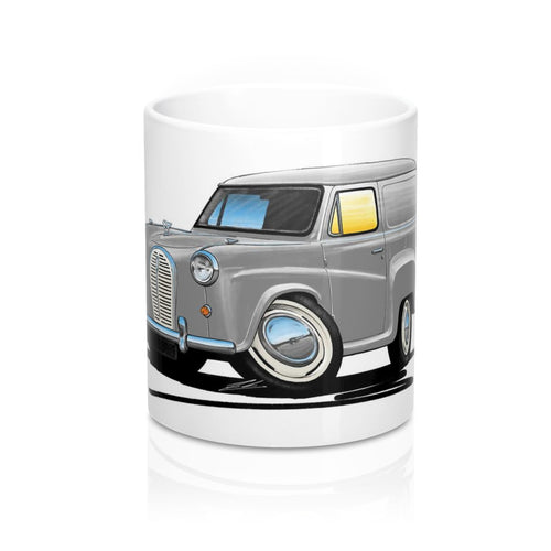 Austin A35 Van - Caricature Car Art Coffee Mug