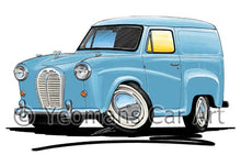 Load image into Gallery viewer, Austin A35 Van - Caricature Car Art Coffee Mug