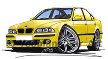 Load image into Gallery viewer, BMW M5 (E39) - Caricature Car Art Print