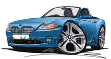 Load image into Gallery viewer, BMW Z4 (E85) - Caricature Car Art Print