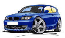 Load image into Gallery viewer, BMW 1-Series (E81) - Caricature Car Art Coffee Mug