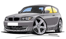 Load image into Gallery viewer, BMW 1-Series (E81) - Caricature Car Art Print