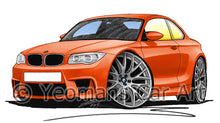 Load image into Gallery viewer, BMW 1M Coupe - Caricature Car Art Print