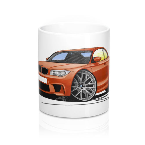 BMW 1M Coupe - Caricature Car Art Coffee Mug