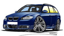 Load image into Gallery viewer, BMW 3-Series (E91) Touring - Caricature Car Art Coffee Mug