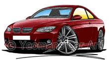 Load image into Gallery viewer, BMW 3-Series (E92) Coupe - Caricature Car Art Coffee Mug