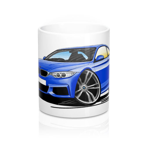 BMW 4-Series (F32) Coupe - Caricature Car Art Coffee Mug