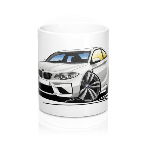 BMW M2 (F87) - Caricature Car Art Coffee Mug