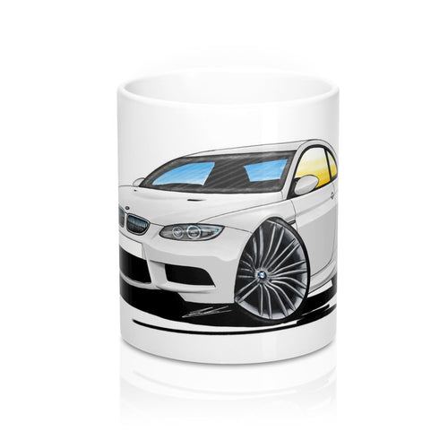BMW M3 (E92) Coupe - Caricature Car Art Coffee Mug
