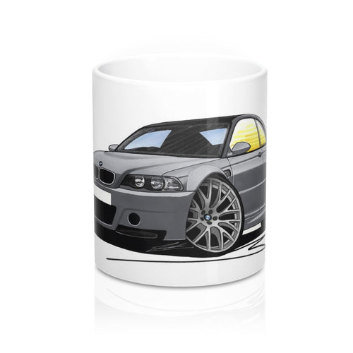 BMW M3 (E46) CSL - Caricature Car Art Coffee Mug