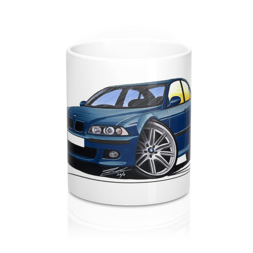 BMW M5 (E39) - Caricature Car Art Coffee Mug