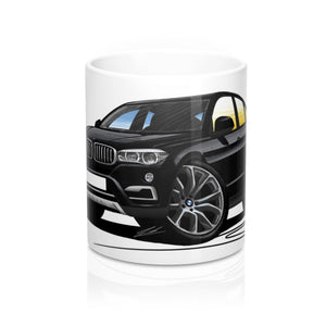 BMW X6 (F16) - Caricature Car Art Coffee Mug