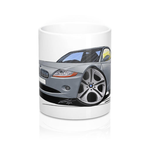 BMW Z4 (E85) Coupe - Caricature Car Art Coffee Mug