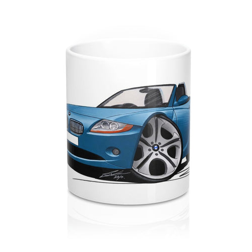 BMW Z4 (E85) - Caricature Car Art Coffee Mug