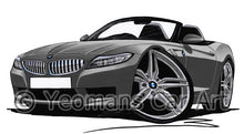 Load image into Gallery viewer, BMW Z4 (E89) - Caricature Car Art Coffee Mug