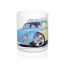 Load image into Gallery viewer, VW Beetle (Yeo-B) - Caricature Car Art Coffee Mug