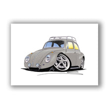 Load image into Gallery viewer, VW Beetle (Yeo-D) - Caricature Car Art Print