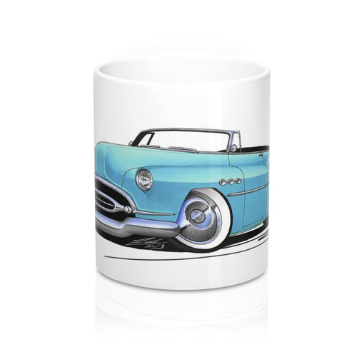 Buick Super Riviera (1952) Convertible - Caricature Car Art Coffee Mug